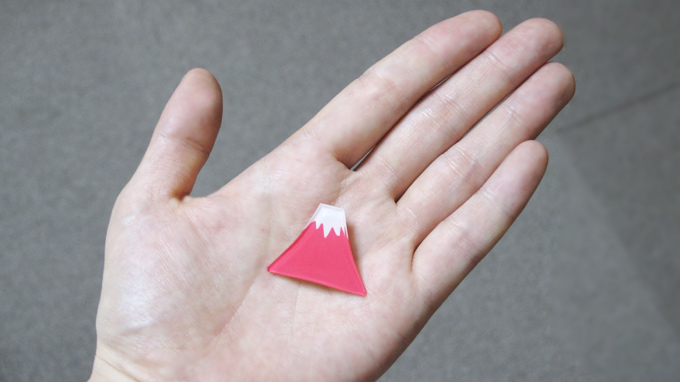Mt Fuji BROOCH