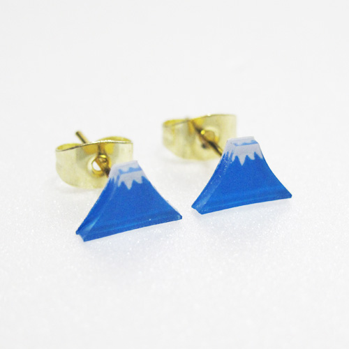 Mt Fuji EARRINGS
