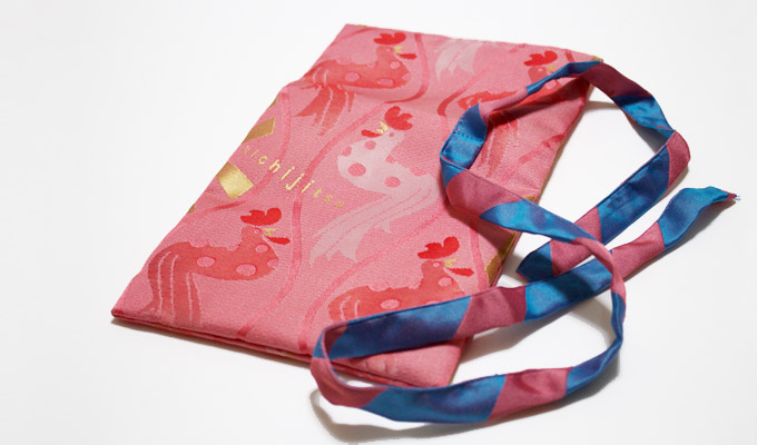 GOISSHO bukuro(a pouch for the GOSHUIN note)