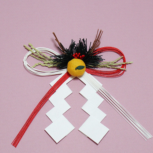 Mizuhiki bowknot -New Year's decoration-