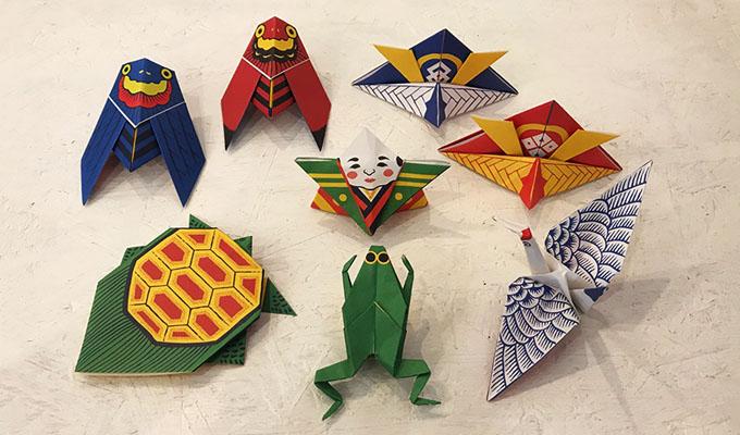 ハート 折り紙:和風 折り紙-tokyokitsch.com