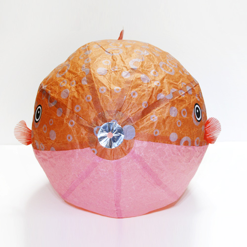 Japanese Paper Balloon | Big Size Fugu
