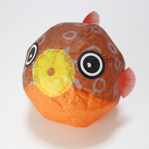 Japanese Paper Balloon | Fugu