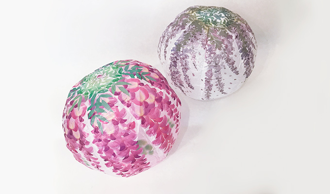 Japanese Paper Balloon | Wisteria