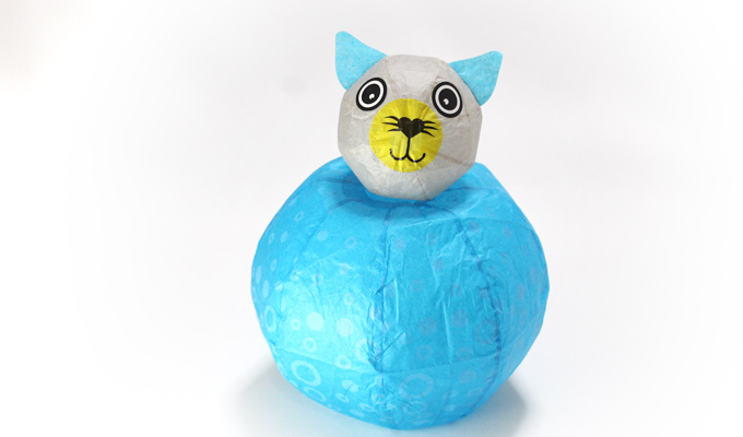 Japanese Paper Balloon | Cat