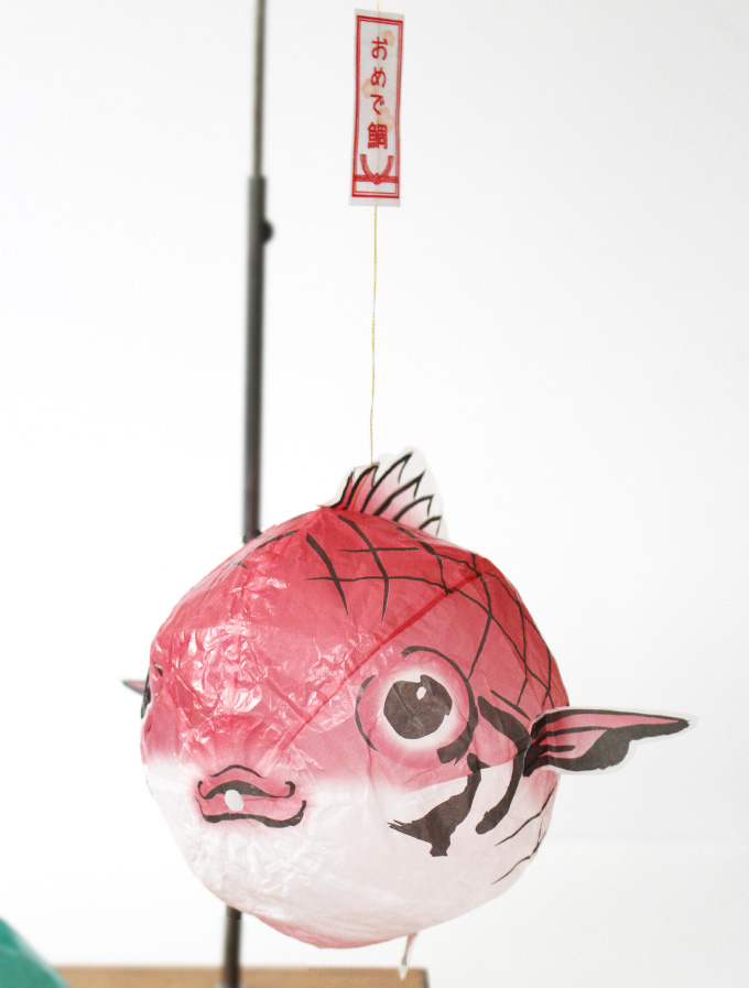 Japanese Paper Balloon | TAI -Red Sea Bream-
