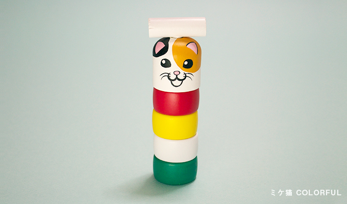 Daruma-otoshi(stacked Daruma game)